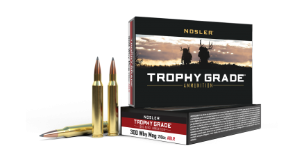 300 WBY 210gr AccuBond Long Range Trophy Grade Ammunition