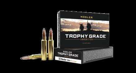 33 Nosler 250gr Partition Trophy Grade Ammunition