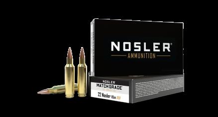 22 Nosler 85gr RDF Match Grade Ammunition