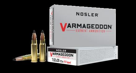 7.62x39mm 123gr FB Tipped Varmageddon Ammunition