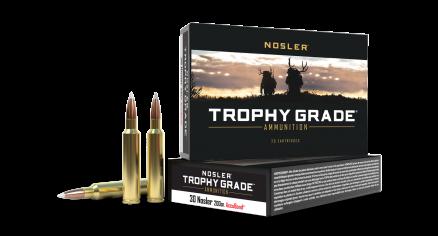 30 Nosler 200gr AccuBond Trophy Grade Ammunition