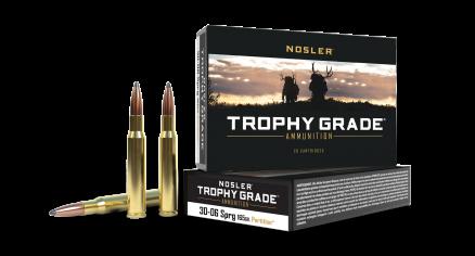 30-06 Springfield 165gr Partition Trophy Grade Ammunition