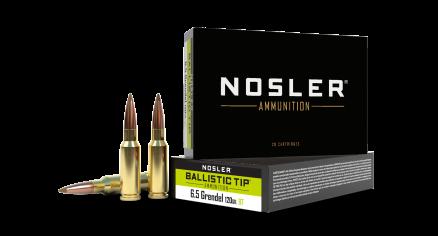 6.5 Grendel 120gr Ballistic Tip Hunting Ammunition