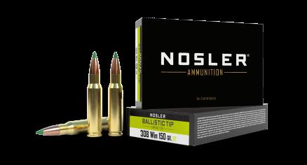 308 Winchester 150gr Ballistic Tip Hunting Ammunition