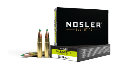 300 AAC Blackout 125gr Ballistic Tip Hunting Ammunition