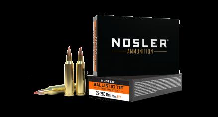22-250 Remington 55gr Ballistic Tip Varmint Ammunition