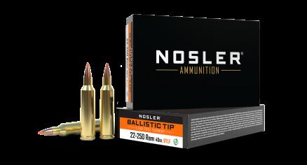 22-250 Remington 40gr Ballistic Tip Lead Free Varmint Ammunition