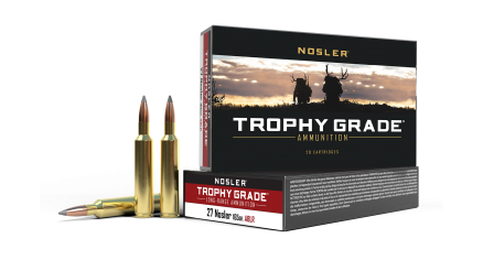 27 Nosler 165gr AccuBond Long Range Trophy Grade Ammunition
