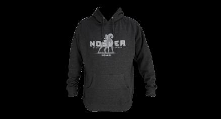 Nosler Moose Logo Hoodie - Charcoal Grey