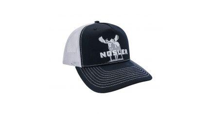 Nosler® Moose Logo Trucker Hat (Black / White)