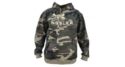Nosler Moose Hoodie - Woodland Camo