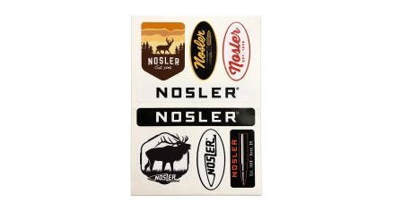 Nosler Assorted Sticker Sheet