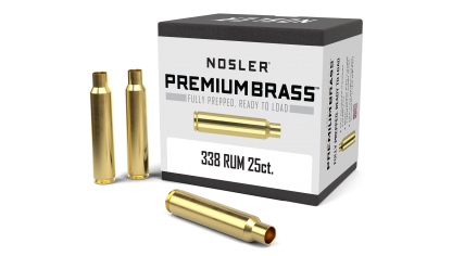 338 RUM Premium Brass (25ct)