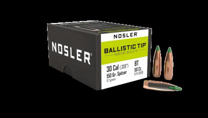 30 Caliber 150gr Ballistic Tip Hunting (50ct)