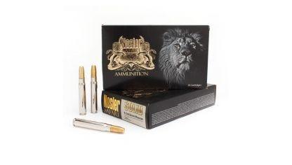 9.3x62 286gr Solid Safari Ammunition