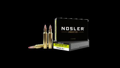 28 Nosler 160gr Ballistic Tip Hunting Ammunition