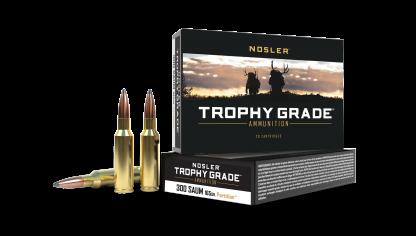 300 SAUM 165gr Partition Trophy Grade Ammunition