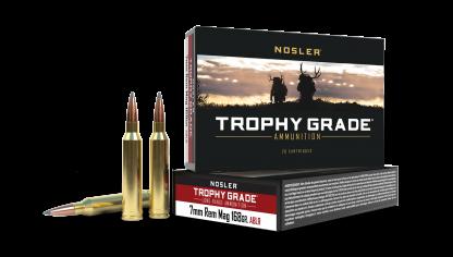 7mm Rem Mag 168gr AccuBond Long Range Trophy Grade Ammunition