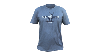 Nosler Mule Deer T-Shirt - Indigo