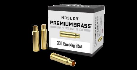 350 Rem Mag Premium Brass (25ct)