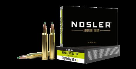 300 Win Mag 180gr Ballistic Tip Hunting Ammunition