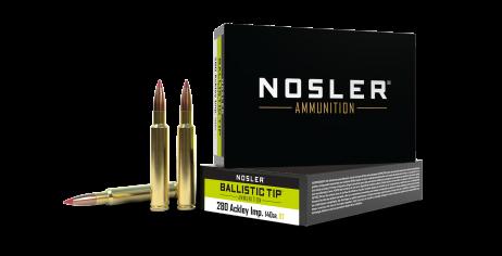 280 Ackley Improved 140gr Ballistic Tip Hunting Ammunition