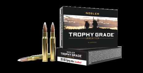 30-06 Springfield 180gr AccuBond Trophy Grade Ammunition