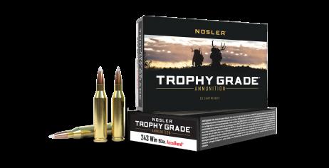 243 Win 90gr AccuBond Trophy Grade Ammunition