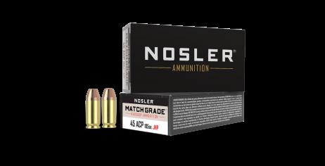 45 ACP 185gr JHP Match Grade Handgun Ammunition (50ct)