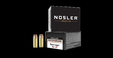 9mm Luger 115gr JHP Match Grade Handgun Ammunition