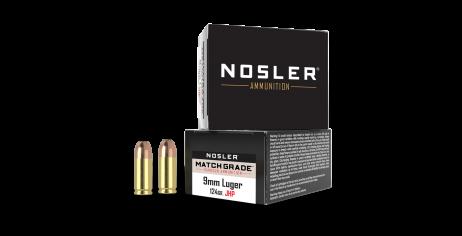 9mm Luger 124gr JHP Match Grade Handgun Ammunition (20ct)