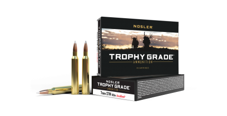 7mm STW 160gr AccuBond Trophy Grade Ammunition