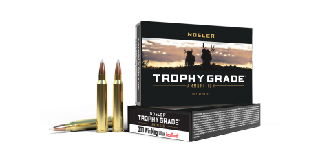 300 Win Mag 180gr AccuBond Trophy Grade Ammunition