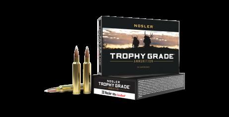 30 Nosler 180gr AccuBond Trophy Grade Ammunition