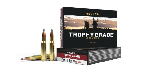 7mm-08 Rem 150gr AccuBond Long Range Trophy Grade Ammunition