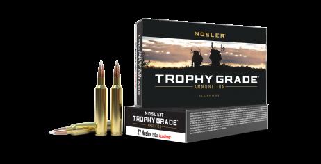 27 Nosler 150gr AccuBond Trophy Grade Ammunition